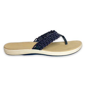 Sperry Seabrook Current Navy Fisherman Sandal 7M